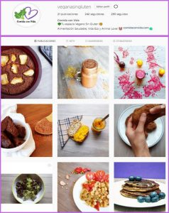 comida vegana sin gluten
