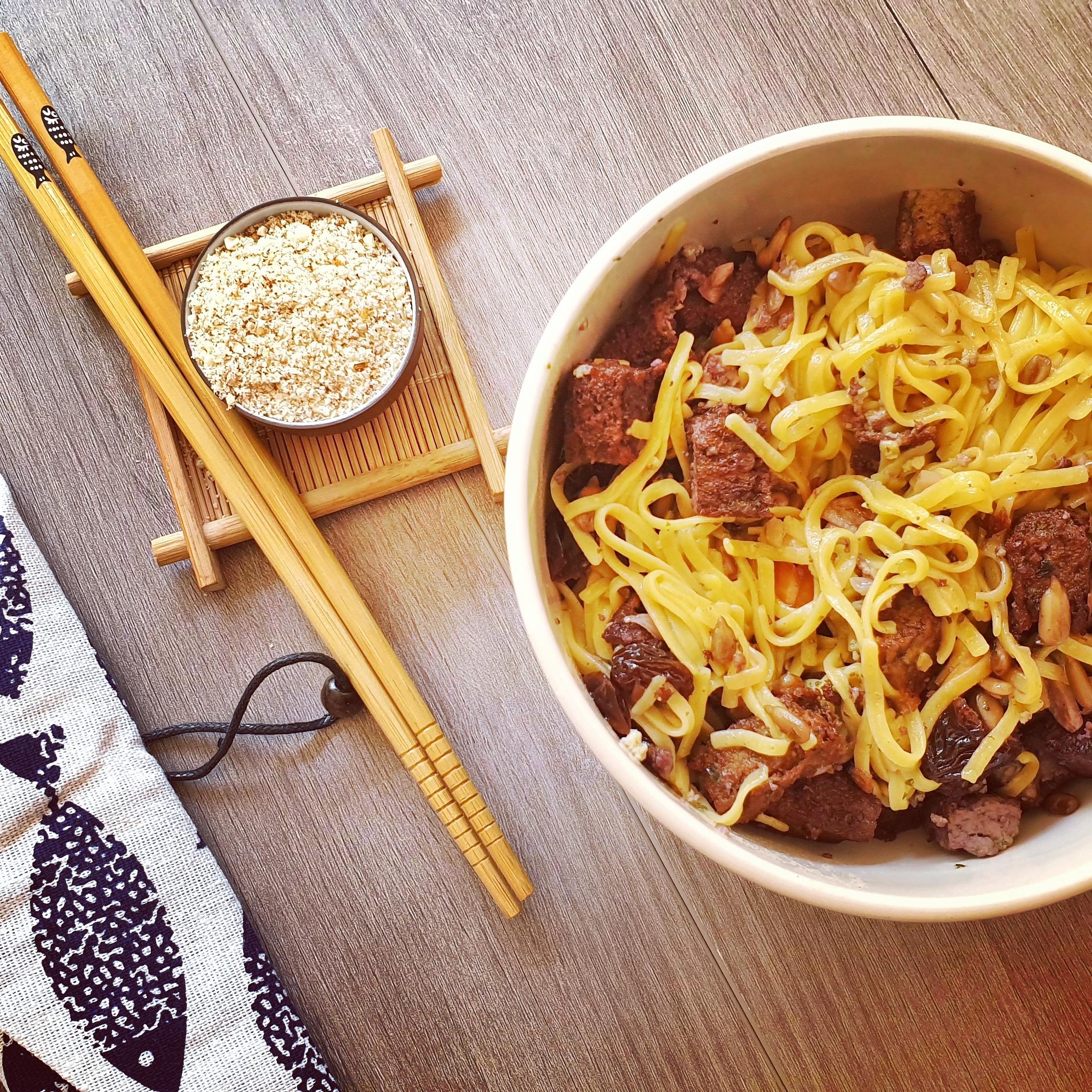receta noodles sin gluten