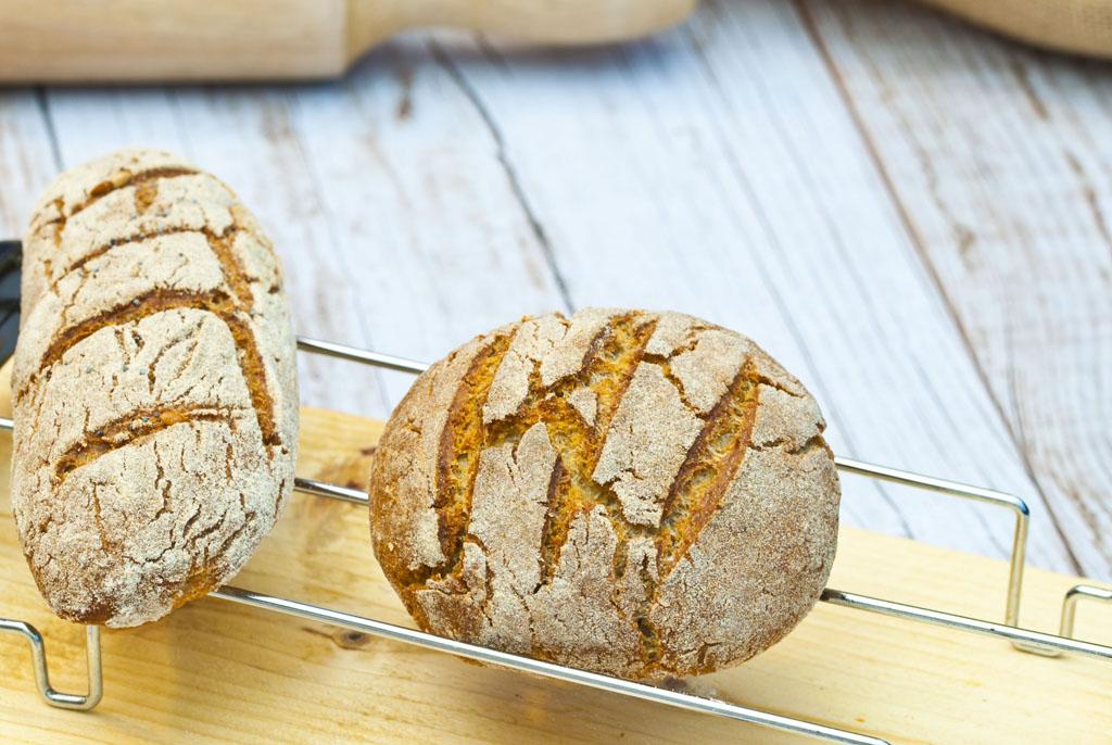 pan de avena sin gluten panificadora