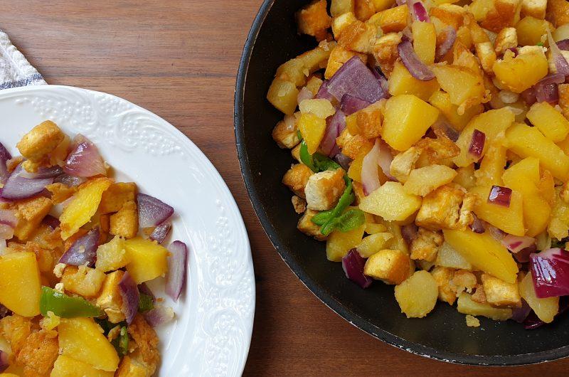 Patatas con Tofu