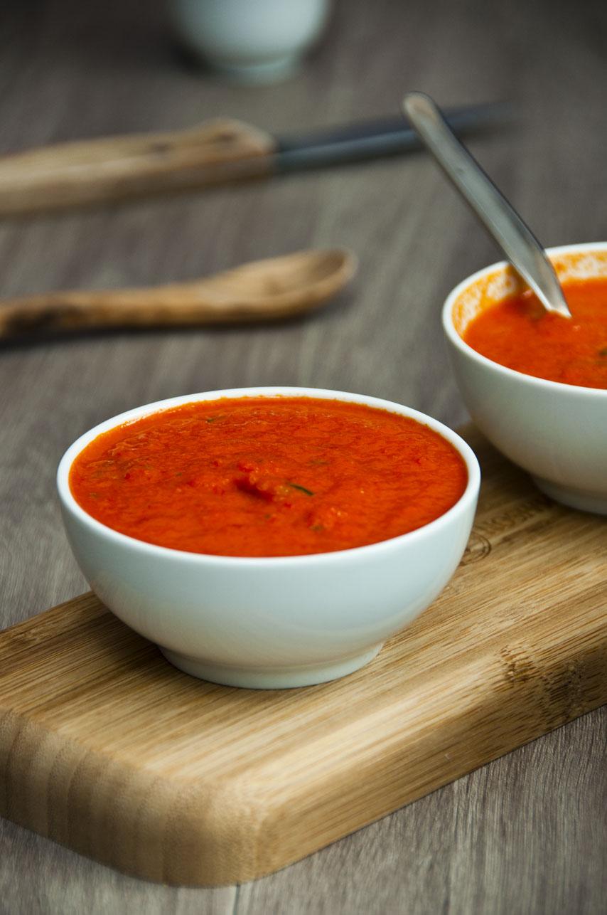 receta salsa de pimiento roja